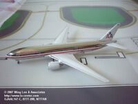 Gemini Jets American Airlines Boeing 777-200 Chrome Finish Diecast Model 1:400