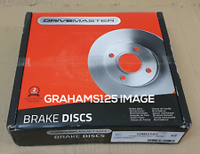 Drivemaster DMD100 Front Brake Discs x2 300mm Diameter Vented 28mm Thickness