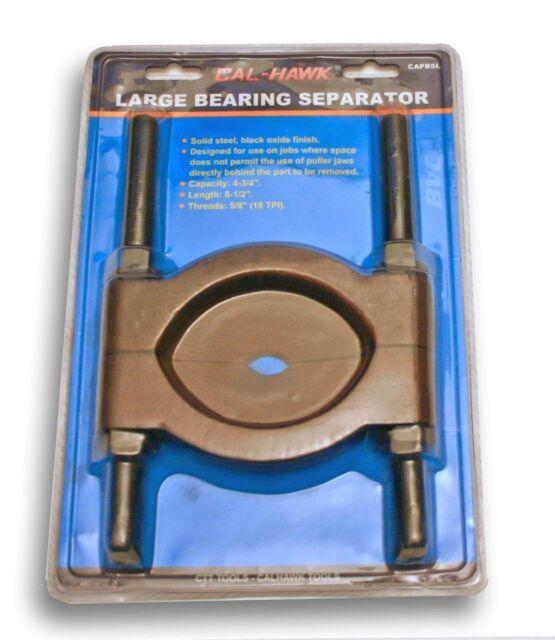"LARGE BEARING SEPARATOR 8-1/2"" Long 4.75""Capac. SPLITTER STEEL SHOP PRESS PULLER"