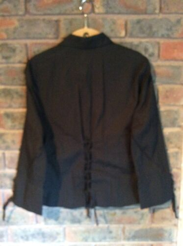 Xl Womens Zara Cotton Basics Black Blouse qPwWa6XOBx