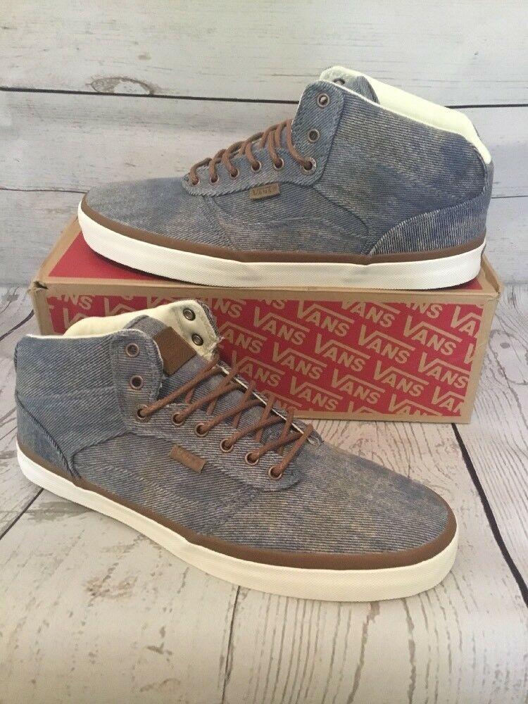 Vans Bedford (acid denim) Blue Ultracush Mens 10