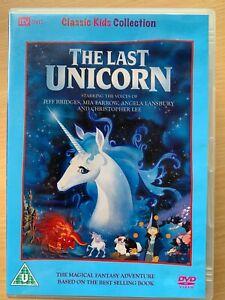 The-Last-Unicorn-DVD-1982-Cult-Children-039-s-Animated-Fantasy-Film