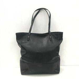 RALPH-LAUREN-Black-Handbag-Genuine-Leather-Handle-Smart-Casual-Work-461136