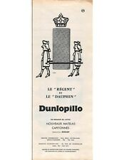 Publicité Advertising 1959 - Dunlopillo -  (Advertising paper)