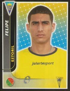 148 Felipe Brazil Gd.estoril Sticker Panini Futebol 2004-2005 Fnotrpvl-08002622-174670872
