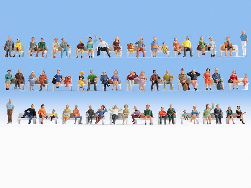 Ancora 18402 h0 cifra Mega Set Risparmio sede personaggi fine