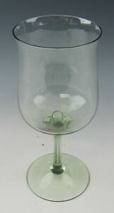 Lenox-Crystal-GREEN-MIST-Water-Goblet-s-EXCELLENT