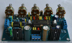 LM4610-NE5532-Preampli-LM4610-tone-control-Board-avec-intensite-commutable