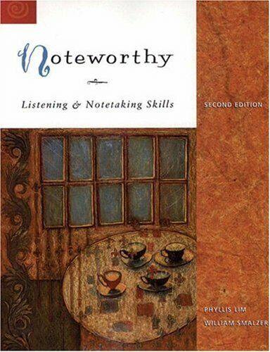 Listening & Notetaking Skills Series - International ...