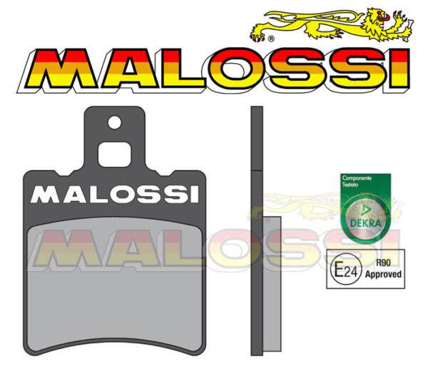 2 Plaquettes De Freins Avant Malossi Brake Pads Mbk Neos Aerox Sr Nitro Ovetto