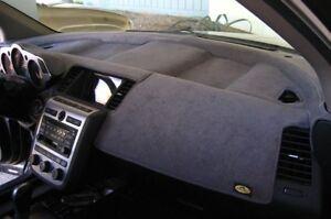 Mitsubishi-Lancer-2008-2013-w-Sensor-No-Nav-Sedona-Suede-Dash-Mat-Charcoal-Grey