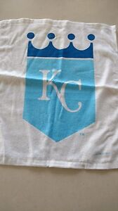 MLB Kansas City World Series rally towel White, MINT never used, FREE SHIPPING!