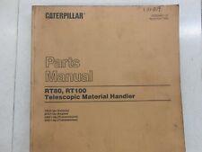 Cat Caterpillar Telehandler Rt80 Rt100 Parts Manual