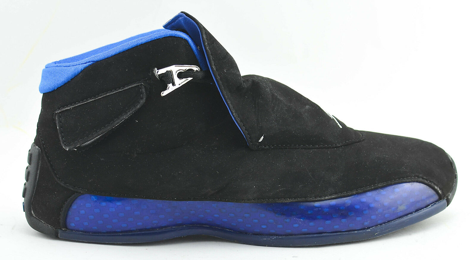 MENS NIKE AIR JORDAN XVII 18 2003 BASKETBALL SHOES SIZE 11 BLACK blueE 307985 111
