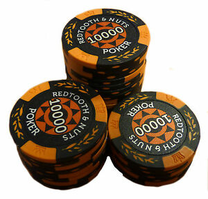Redtooth-amp-Nuts-Poker-Chip-Roll-10-000-Value