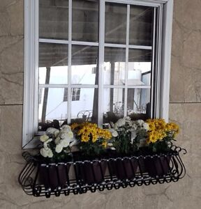Image Is Loading 48 034 Metal Window Boxes Wrought Iron Wall