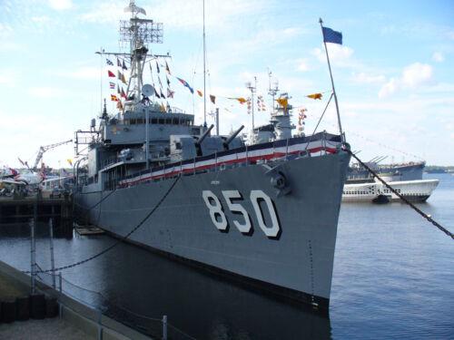 USS Joseph P Kennedy Jr DD-850 US NAVY HAT PIN DESTROYER Gemini  BATTLESHIP COVE