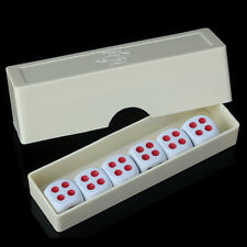 6Pc Forcing Dice with Box Street Stage Magic Tricks  Magic Props Kid Baby Toys