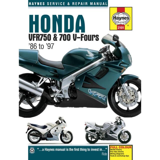 honda vfr 750 f 1986 haynes service repair manual 2101 ebay rh ebay co uk Honda Owners Manuals PDF Honda Owners Manuals Specs