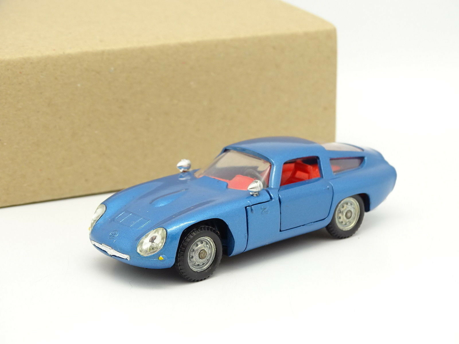 Politoys 1 1 1 43 - Alfa Romeo Giulia TZ Azul metal 516 15558e