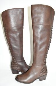 15d234d9f4e  260 VINCE CAMUTO Bolina Over-the-Knee Boot LEATHER DARK BROWN ...