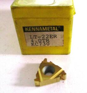 9-Filetage-Plaquettes-LT22ER-4-0TR-KC730-de-Kennametal-Neuf-H30864