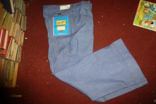 Vintage Wrangler Jeans 1974 flare/cuff UNUSED with