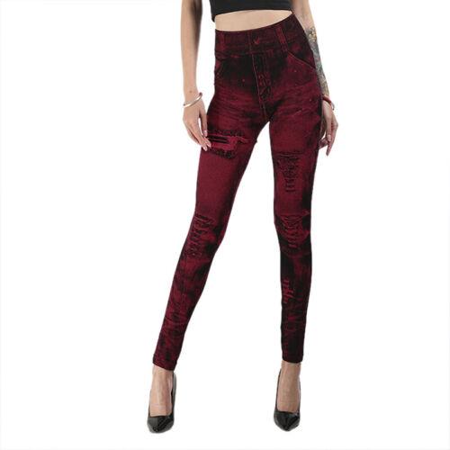 Jeans Women Denim Pants Slim Leggings Fitness Plus Size Leggins Jeans Trousers/'