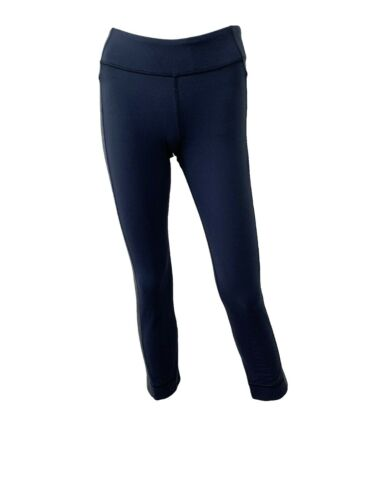 Lululemon Navy Blue Grey Straight Leg Leggings Siz