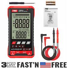 Digital Multimeter Tester Ac Dc Tester Volt Ohm Amp Meter Auto Range Lcd Machine