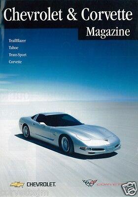 Chevrolet Et Corvette Magazine Catalogue Publicitaire