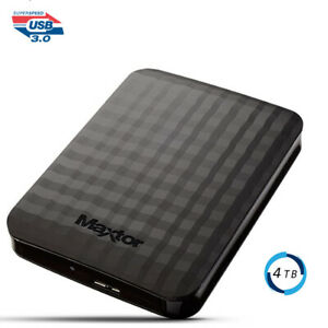 "Hard disk esterno 2,5"" 4 Tb 4000 GB Samsung/Maxtor Usb 3.0 4000gb IOS Windows"