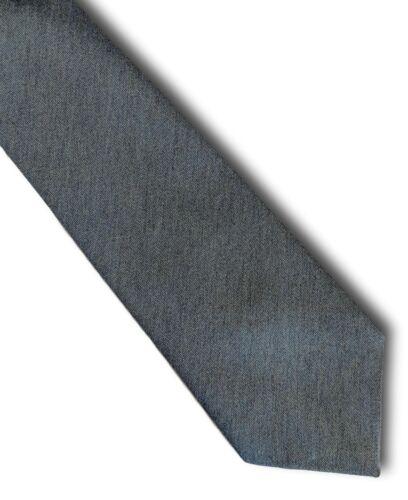 Men/'s Tailored Bleu Mélange Laine Cravate le pays Cravate par CROQUIS DE LONDRES