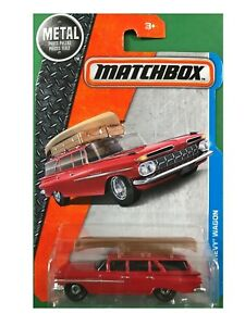 Details About 1959 Chevrolet Brookwood Station Wagon W Canoe In Orig Pkg Brand New 59 Chevy