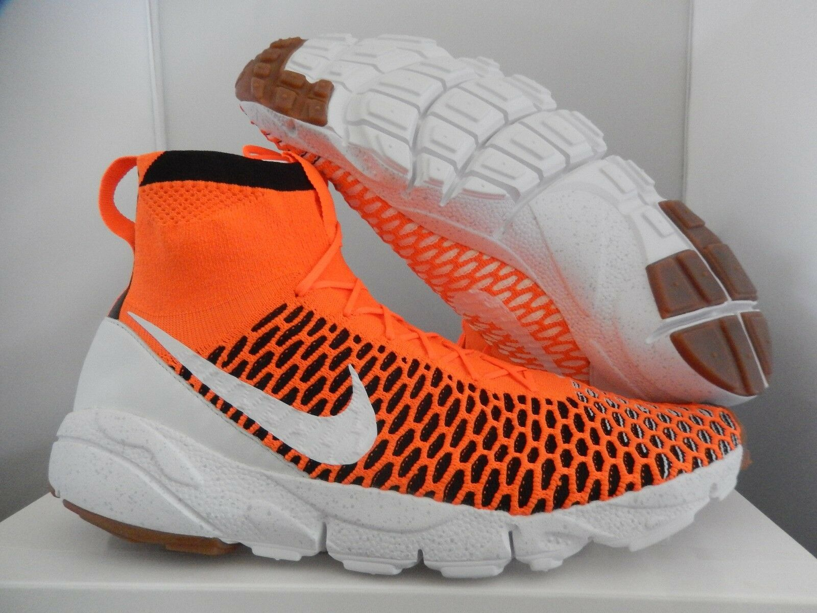 Nike air footscape magista sp totale orange-white-nero sz - 652960-800]