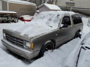 2 door s10 blazer for sale V8 conversion