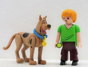 Scooby-Doo-Sammy-Playmobil-Mistery-Magic-Esprit-Fantome-Ghost-Movie-chien-NEUF