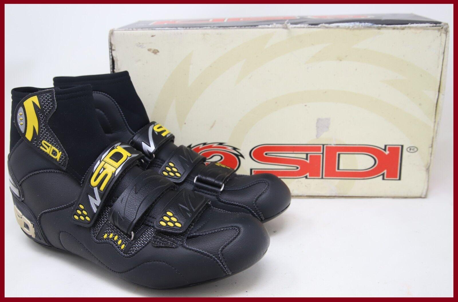 Nuevo viejo Stock nuevo en caja zapatos de ciclismo de invierno SIDI congelar talla Neopreno Outlast Eco Cuero