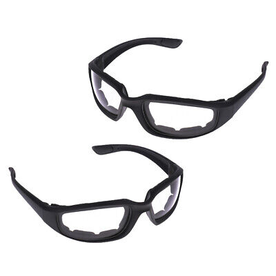 Daul Lens Motorradbrille,Anti-Fog UV-Schutz Motorradbrille mit Gummib/ändern Outdoor Mountain Road Motocross Brille Moto Zubeh/ör