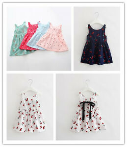 844c942dd0bc Baby Girl Newborn Toddler Infant Party Dress Summer Outfit Clothing ...