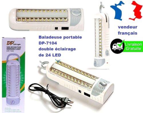 DP-7104 Lampe baladeuse super puissante nouvelle génération DE 24 LED  COB