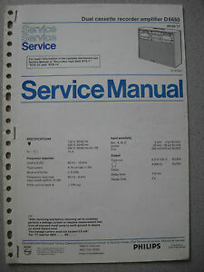 Philips-D6650-Service-Manual