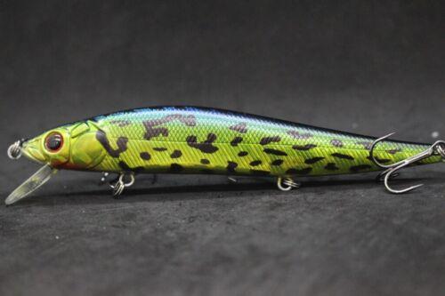 Jerkbait Bait Fishing Lure wLure 5 inch Tight Wobble Slow Floating M262