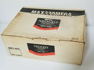 SNK Neo Geo AES Joystick Controller NEO-AEC Boxed Japan 0605A8