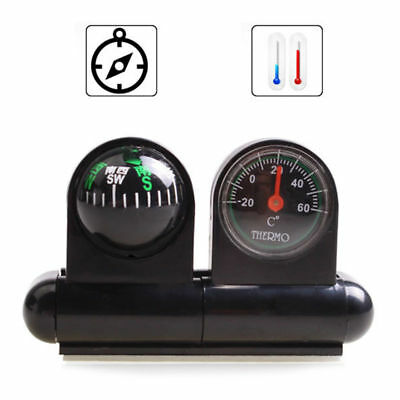 Digital Auto Navigating Car Compass with Time Temperature+Backlight/&Suction
