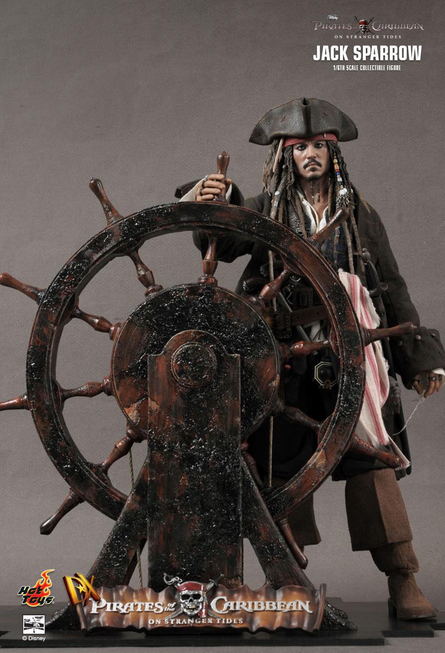 HOT TOYS 16 Piratas del Caribe DX06 Jack Sparrow obra maestra Figura Nueva