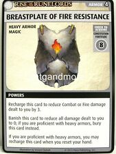Pathfinder Adventure Card Game - 1x Breastplate of Fire Resistance - Fortress