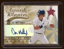 DON MATTINGLY 2002 LEAF R & S AUTO SP /25 AWARD WINNERS   SUPER RARE  NEVER SEEN