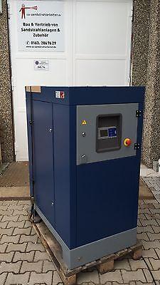 Fein Schraubenkompressor 22 Kw 8 -10 Bar 3600l/min DruckstrahlgerÄt Sand Strahlen Ideales Geschenk FüR Alle Gelegenheiten