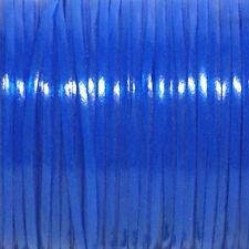 100 YARDS (91m) SPOOL GLOW BLUE REXLACE PLASTIC LACING CRAFTS CYBERLOX
